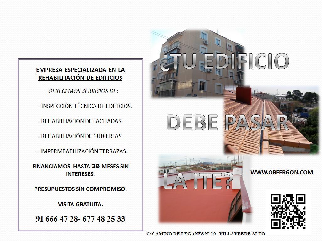 INSPECCION TECNICA DE EDIFICIOS QUE ES