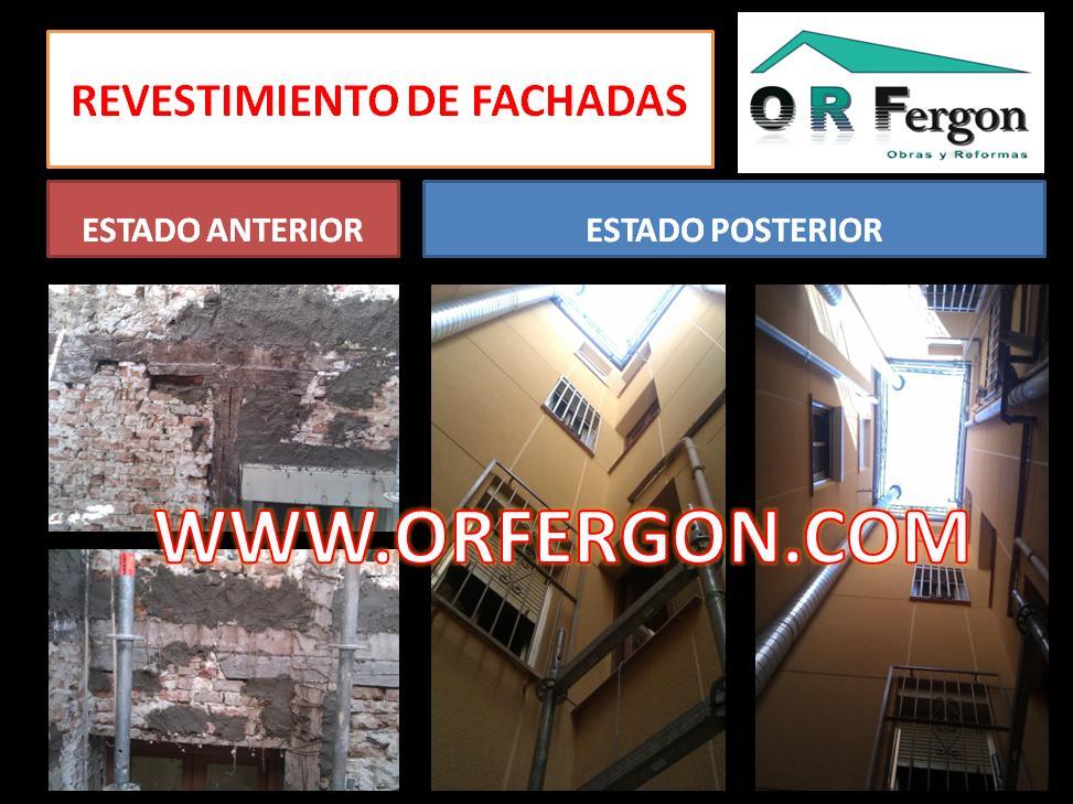 REHABILITACION DE FACHADAS MADRID CENTRO