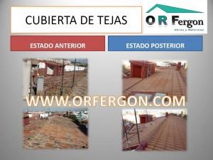 cubierta tejas